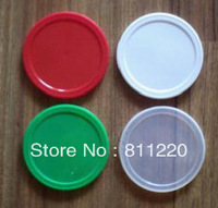 Bottle cap,container top cap,pp canning lids for food saving,plastic cover variable color,flat bottle cap for milk powder