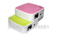 Portable Mini router 35 M Wifi Router Ethernet to WIFI mini Adapter Free shipping