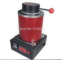 Automatic Electric Melting Furnace Silver & Gold Pour Bar +2Kg Crucible+ tong - Digital Controler 110V &220V