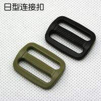 Slip-resistant tab buckle backpack accessories package with fastener adjustable coupler muddy