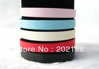 wholesal  100pcs Scrub  Wristband Fit 8mm DIY Slide Charms