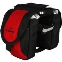 ROSWHEEL Cycling Bicycle Multi-Function Bike Beam Bag Red Mobile Phone Pannier Pack