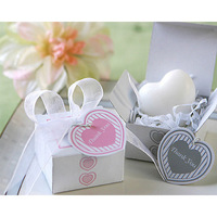 10pcs/lot  Heart-shape Favor Mix Color Love Soap for Bath Body Wedding Gift Free Shipping
