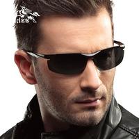 Male sunglasses fashion aluminum magnesium outdoor polarized sunglasses male sunglasses