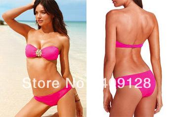 swimwear women 2013 new vs bikini push up swimsuit sexy swimwear bikini for women fashion bra bikini bathing suit