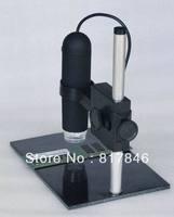 Free shipping 2013 NEW 50-800X HD USB Digital camera Digital Microscope 8 LED 2 MP Endoscope Magnifier Camera+Lifting Holder