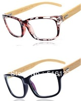 2013 NEW STAR BAMBOO FRAMES ,wooden eyeglasses  Plain lenses,Computer wear glasses Radiation decorative glasses Wholesale