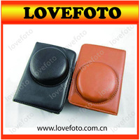 Hot Sale! For Canon PowerShot SX150 Retro PU Leather Digital Camera Carrying Case Hoster Bag