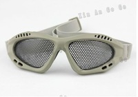 Sand color US Military Camping Goggles Sand Wind UV-proof CS Protection free shipping