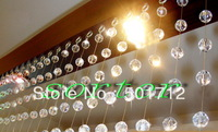 Wholesale free shipping decorative crystal bead curtain