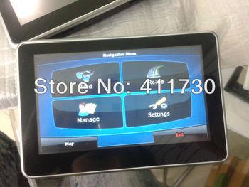 On sale 26 Mar 4.3 inch GPS Navigation System car navigator 4GB +FM GPS navigator Free shipping