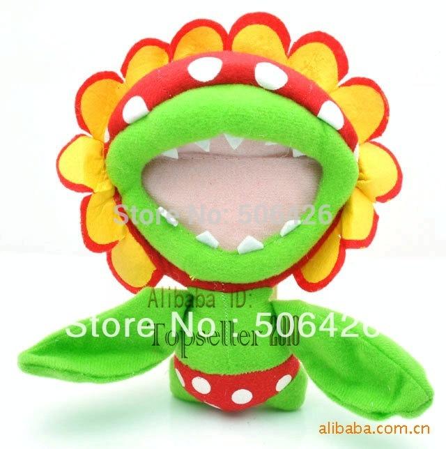 "free shipping Mario 16cm Piranha plush doll Super Mario plush toy 6.5""(China (Mainland))"