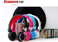 Free shipping Kanen IP-850 Foldable studio headphone for iPhone/mp3