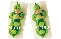 Free shipping 1 pc Baby pea sleeping bag ,peas shape sleep bag