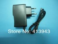 100% New 50PCS AC 100V-240V Converter Adapter DC 3V 1000mA Power Supply EU Plug DC 5.5mm x 2.1mm +