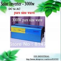 Wholesale Off-Grid Tie Solar Power Inverter 3000W Pure Sine Wave Input DC12V/24V/48V AC220V