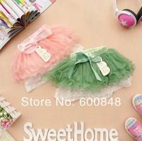 Girls' Skirt Multi-layer cake skirt with bow bowknot veil skirt baby Tutu skirt 2-5ages bc14