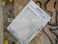 For Ipad2/3/4 screen protector retail packaging 50pcs/lot fit for all 10inch screen protector ,accpted OEM logo