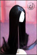 1/3 Bjd peruca boneca preta - 3 cores traje fio de alta temperatura fabricante de cabelo(China (Mainland))