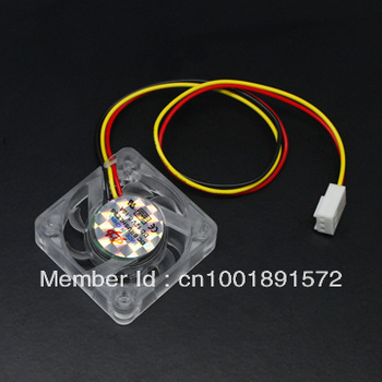 40mm 3 Pin PC Computer VGA Video Card Chipset CPU Cooler Cooling Transparent Fan