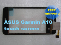 Compare Original New Touch Panel touch screen  with Front  Shell For ASUS Garmin A10  Free Shipping HK Post Air Mail