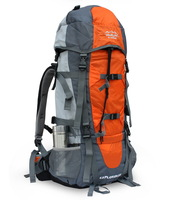 Top quality 70L multifunction professional camping backpack Carrying system of CR Free shipping