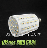 AC 220V-240V E27 30W 102 LED 5630 SMD Cool White LED Corn Light Ceiling Lamp