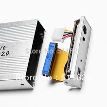 Free shipping   USB 2.0 3.5 IDE HDD HD Hard Disk Drive Enclosure Case //8105(China (Mainland))