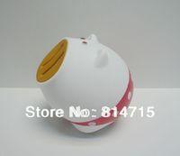 non-phthalate PVC Pig Shape Money Saving Box Free Shipping