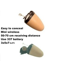 Micro Covert 205 earpiece Wholesale with Original non-magnetic quality Free Shipping