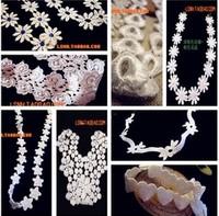 Hotsale lovely 18Style white flower lace hair band elastic headbands bridal wedding hair accessories for women girls children