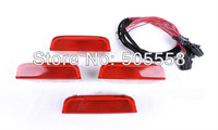 4PCS/SET OEM Door Warning Light With Cable #3AD 947 411 For VW Golf 5 6 Jetta MK5 MK6 CC Tiguan Passat B6