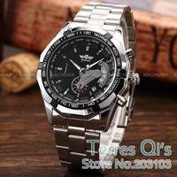 Winner Luxury Watch Men Mechanical Automatic Day Watches Wristwatch Free Ship