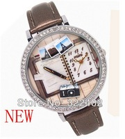 Fashion Polymer clay Wrist watch Japan Movement Watches Korea technology Free shipping High-Quality Hot Sales
