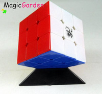 Free Shipping of High Quality 5.7cm Mixed DaYan II GuHong I cube,3x3x3 Magic Cube 6 Color Stickerless BB001