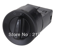Free shipping Auto Head light Switch /1C0 941 531B for VW NewBeetle,Bora,Jetta,Passat 12v