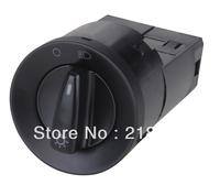 Free shipping Auto Head light Switch /1C0 941 531B for VW NewBeetle,Bora,Jetta,Passat 12v