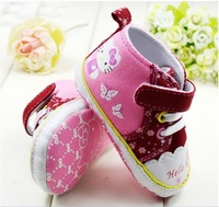Big Promotion Baby Shoes  6 pairs/ lot ,wholesale kids shoes KT  SHOES girls booties wholesale baby shoes wholesale baby booties