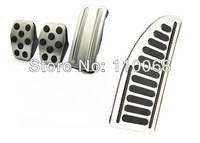 4PC/LOT Stainless Car Pedal For M/T  Ford Focs Car Brake Clutch Accelerator FootRest Pedal Pads Cover