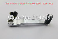 motorcycle parts Chrome Gear Shift Pedal Lever For Suzuki Bandit GSF1200 /1200S 1999 2000 2001