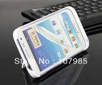 New arrival White 4800mAh External Backup Battery Charger Case for Samsung Galaxy Note 2 II N7100 Free shipping
