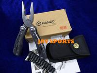 Original GANZO Multi Tool Knife 22in1 hand tool pliers,440C,58HRC GANZO G202+Free shipping(SKUJAV010829)