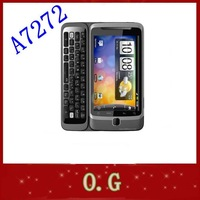 A7272 Original Desire Z A7272 mobile phone android GPS wifi touchscreen 5MP one year warranty singaporepost free
