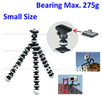 Wholesale Mini Flexible Tripod/Gorillapod for Compact digital camera / video camera with retail packing, Bearing Max 275g
