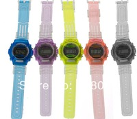 Child electronic watch popular table multicolor  outside sport male girl table