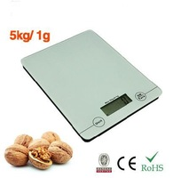 Electronic Kitchen scale for food fruit cooking mini heath scale High accuracy ultra thin VKS303-1 White