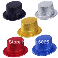free shipping party supplies Carnival Hat Powder Hat, , Magician Performances Hat (12pcs/lot) mix color