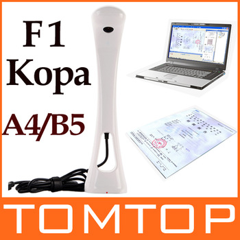 KoPa Scanner HD 720P 5.0 Mega Pixel Color CMOS A4 B5 for Home Mobile Office Mini Portable for Documents Cards Photo Film C1449