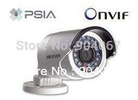 English Hikvision DS-2CD2012-I,PoE,IR Bullet Network IP camera w/IR and IP66,HD IP Camera,1.3MP Mini Bullet Camera,CCTV Camera