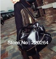 2013 women's handbag fashion big bags rivet tassel bag shoulder bag messenger bag female n9